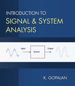 Introduction to Signal and System Analysis, 1st Edition, 978-0-534-46606-0