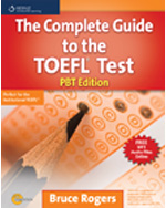 The Complete Guide to the TOEFL® Test: PBT Edition, 1st Edition, 978-1-111-22059-4
