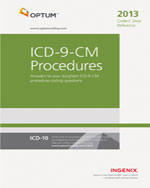 Coders Desk Reference for ICD-9-CM Procedures  2013, 1st Edition, 978-1-60151-637-4