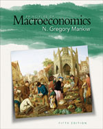 Bundle: Principles of Macroeconomics, 5th + WebTutor™ ToolBox on Blackboard® Printed Access Card, 978-0-324-82470-4