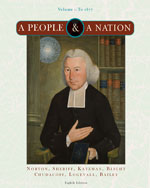 A People and a Nation: A History of the United States, Volume I: To 1877, 8th Edition, 978-0-618-94716-4