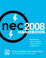 National Electrical Code 2008 Handbook, 1st Edition, 978-0-87765-793-4