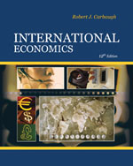 Bundle: International Economics, 12th + WebTutor™ ToolBox for Blackboard® 2-Semester Printed Access Card, 978-0-324-61223-3