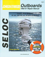 Johnson/Evinrude Outboards, All V Engines, 1992-01, 1st Edition, 978-0-89330-063-0