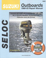 Suzuki Outboards 19882003 , 1st Edition, 978-0-89330-050-0