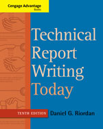 Technical Report Writing Today, 10th Edition, 978-1-133-60738-0
