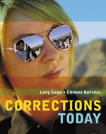 Study Guide for Siegel/Bartollas' Corrections Today, ISBN-13: 978-0-495-81254-8