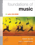 Foundations of Music (with CD-ROM), 7th Edition, 978-0-495-56593-2