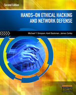 Hands-On Ethical Hacking and Network Defense, 2nd Edition, 978-1-4354-8609-6