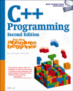 C++ Programming for the Absolute Beginner, 2nd Edition, 978-1-59863-875-2