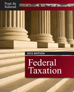 Study Guide for Pratt/Kulsrud's Federal Taxation 2012, 6th, ISBN-13: 978-1-111-96856-4
