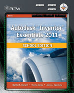 Autodesk Inventor 2011, School Edition, 1st Edition, 978-1-111-54382-2