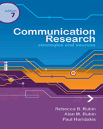 Communication Research: Strategies and Sources, 7th Edition, 978-0-495-09588-0