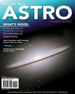 Bundle: ASTRO (with Review Cards and Astronomy CourseMate with eBook Printed Access Card) + 4LTR Press Print Option Sticker, 978-1-111-62383-8