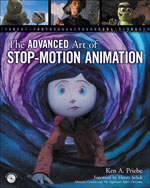 The Advanced Art of Stop-Motion Animation, 1st Edition, 978-1-4354-5613-6