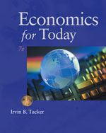 Study Guide for Tucker's Economics for Today, 978-1-111-22246-8