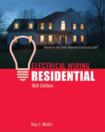 Electrical Wiring Residential, 16th Edition, 978-1-4180-5095-5