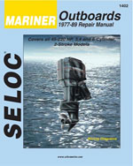 Mariner Outboards, 3, 4, & 6 Cylinders, 1977-1989, 1st Edition, 978-0-89330-016-6