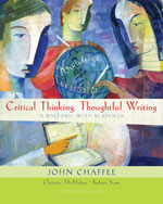 Quick Coach Guide for Chaffee/McMahon/Stout's Critical Thinking, Thoughtful Writing: A Rhetoric with Readings, ISBN-13: 978-0-618-87464-4