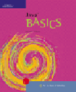 Java BASICS, 1st Edition, 978-0-619-05967-5
