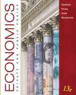 Bundle: Economics: Private and Public Choice, 13th + WebTutor™ ToolBox for WebCT™ 2-Semester Printed Access Card, 978-1-111-29073-3