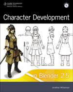 Character Development in Blender 2.5, 1st Edition, 978-1-4354-5625-9