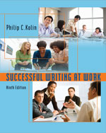 Successful Writing at Work, 9th Edition, 978-0-547-14791-8