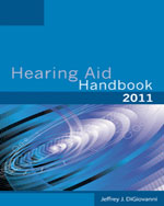 Hearing Aid Handbook, 2nd Edition, 978-1-4354-8111-4