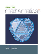 Finite Mathematics, 6th Edition, 978-1-133-60577-5