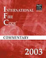 2003 International Fire Code Commentary, 1st Edition, 978-1-58001-131-0