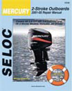 Mercury/Mariner 2 – Stroke Outboards, 2001–2009, 1st Edition, 978-0-89330-067-8
