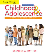 Cengage Advantage Books: Childhood and Adolescence: Voyages in Development, 4th Edition, 978-0-495-90436-6