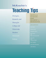 McKeachie's Teaching Tips: Strategies, Research, and Theory for College and University Teachers, 13th Edition, 978-0-495-80929-6
