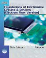 Foundations of Electronics: Circuits & Devices, Electron Flow Version (Book Only), 5th Edition, 978-1-111-32210-6