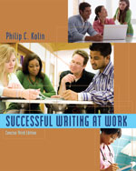 Successful Writing at Work: Concise Edition, 3rd Edition, 978-0-495-90194-5