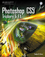 Photoshop CS5 Trickery & FX, 1st Edition, 978-1-4354-5757-7