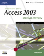 New Perspectives on Microsoft Office Access 2003, Comprehensive, Second Edition , 2nd Edition, 978-0-619-26811-4