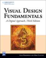Visual Design Fundamentals: A Digital Approach, 3rd Edition, 978-1-58450-581-5