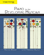 Cengage Advantage Books: Piano for the Developing Musician, Concise, 6th Edition, 978-1-4390-8543-1