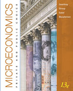 Bundle: Microeconomics: Private and Public Choice, 13th + WebTutor™ ToolBox for WebCT™ Printed Access Card, 978-1-111-29751-0
