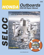 Honda Outboards 2002 - 2008, 1st Edition, 978-0-89330-078-4