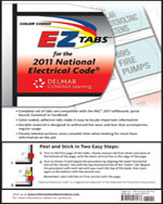 Color Coded EZ Tabs for the 2011 National Electrical Code, 978-1-111-53697-8