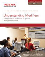Ingenix Learning: Understand Modifiers 2011, 1st Edition, 978-1-60151-427-1