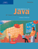 Fundamentals of Java: AP* Computer Science Essentials for the A Exam, 3rd Edition, 978-0-619-24378-4