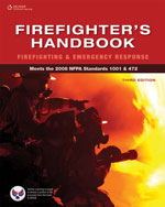 Firefighter's Handbook: Firefighting and Emergency Response, 3rd Edition, 978-1-4180-7320-6