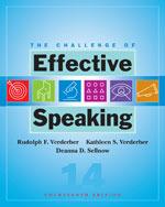 Student Workbook for Verderber/Verderber/Sellnow's The Challenge of Effective Speaking, 14th, ISBN-13: 978-0-495-50350-7