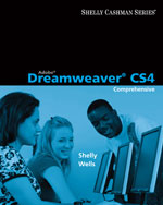 Adobe® Dreamweaver® CS4: Comprehensive Concepts and Techniques, 1st Edition, 978-0-324-78831-0