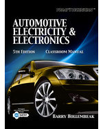 Today's Technician: Automotive Electricity and Electronics Classroom and Shop Manual Pack, 5th Edition, 978-1-4354-7010-1