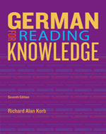 German for Reading K…,9781133604266