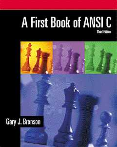 A First Book of ANSI…,9780534379643